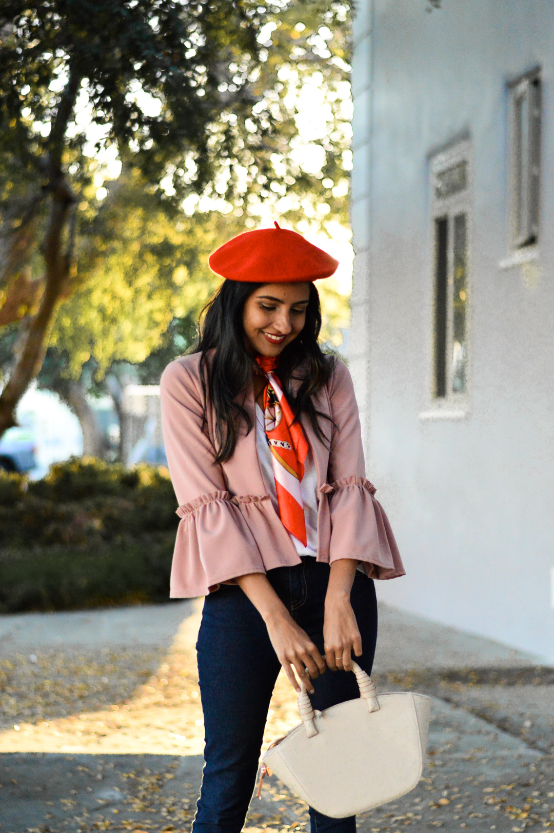 french-vibes-beret-ruffles-blogger-style 2