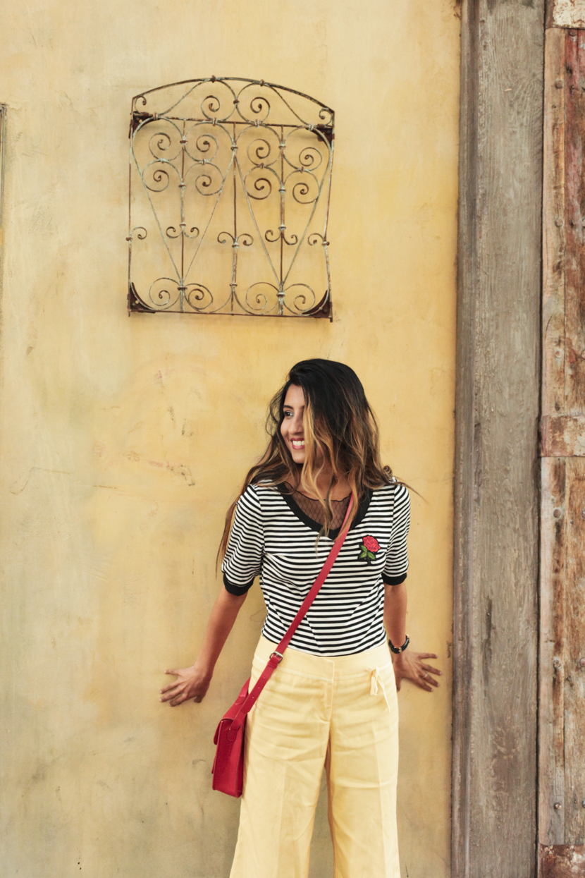 stripes-yellow-summer-style-outfit 4