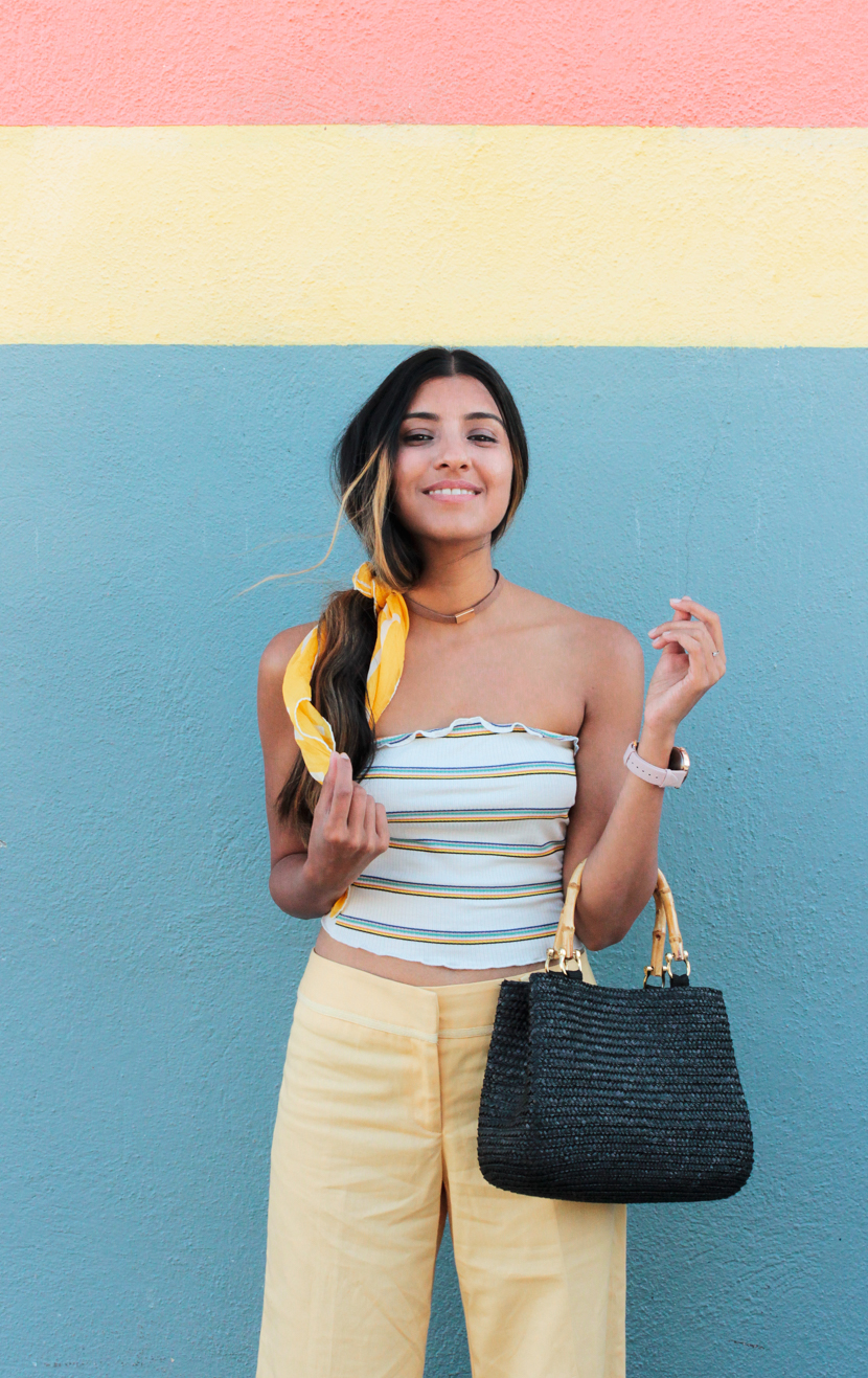 tube-top-trend-outfit-blogger 5