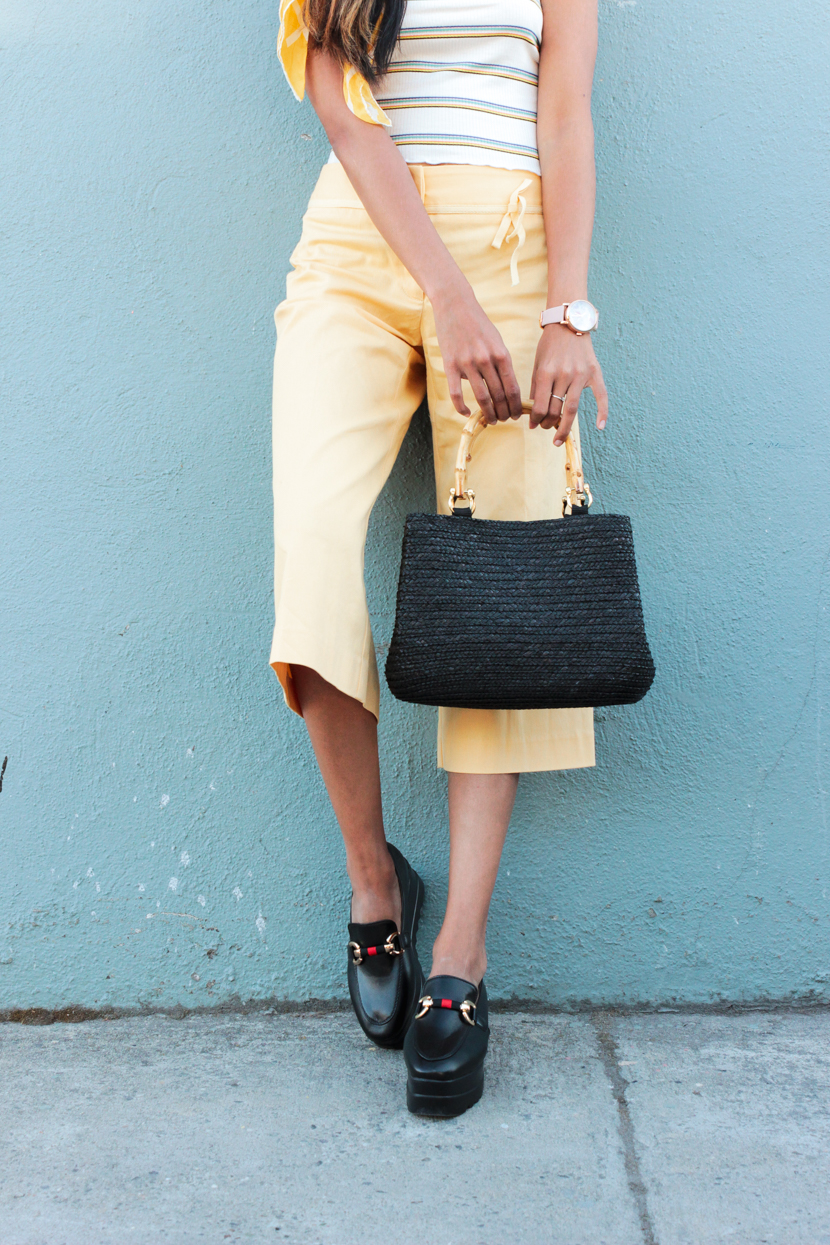yellow-culottes-summer-style-blogger 9