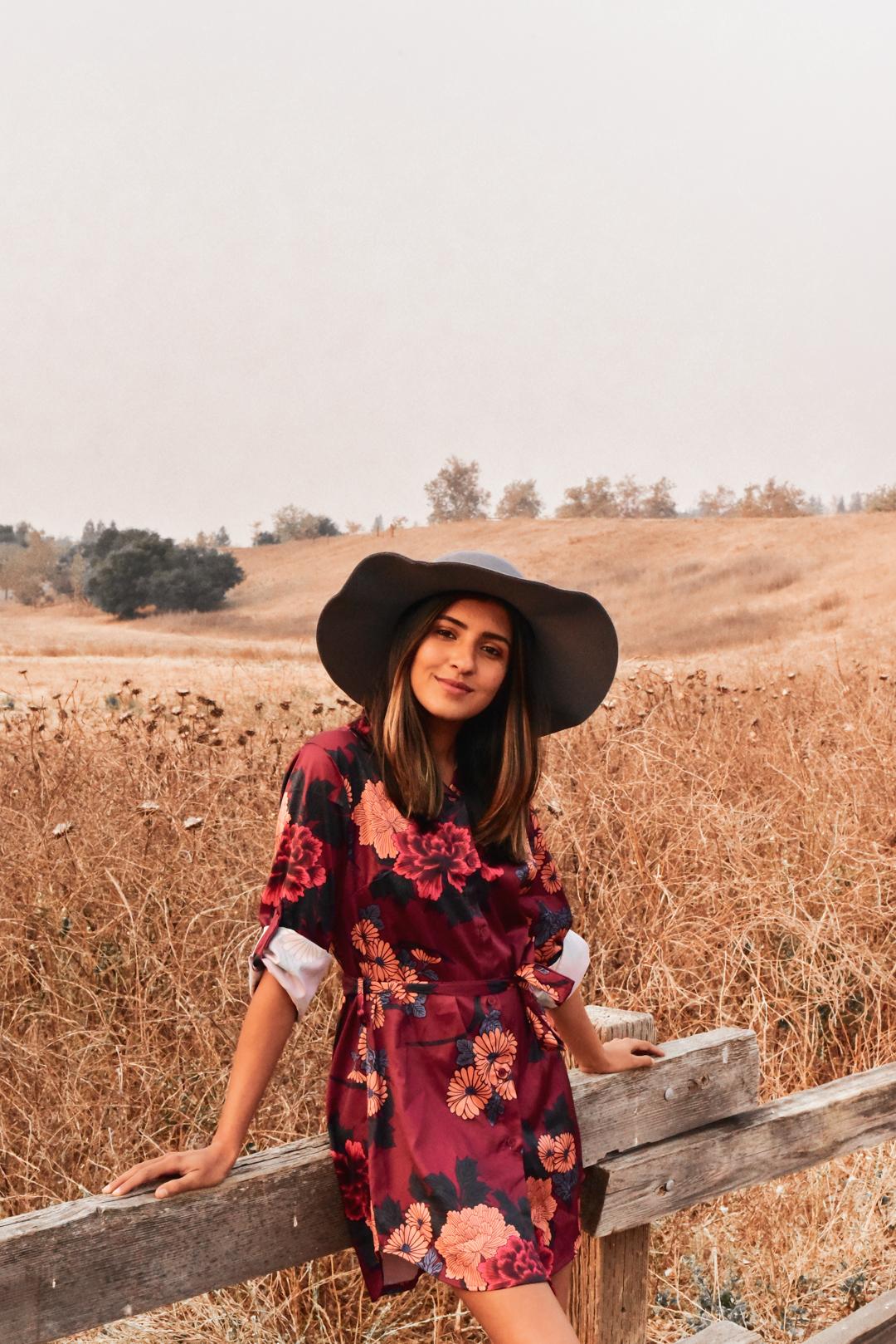 silk-shirtdress-fall-florals-fashion-blogger 4