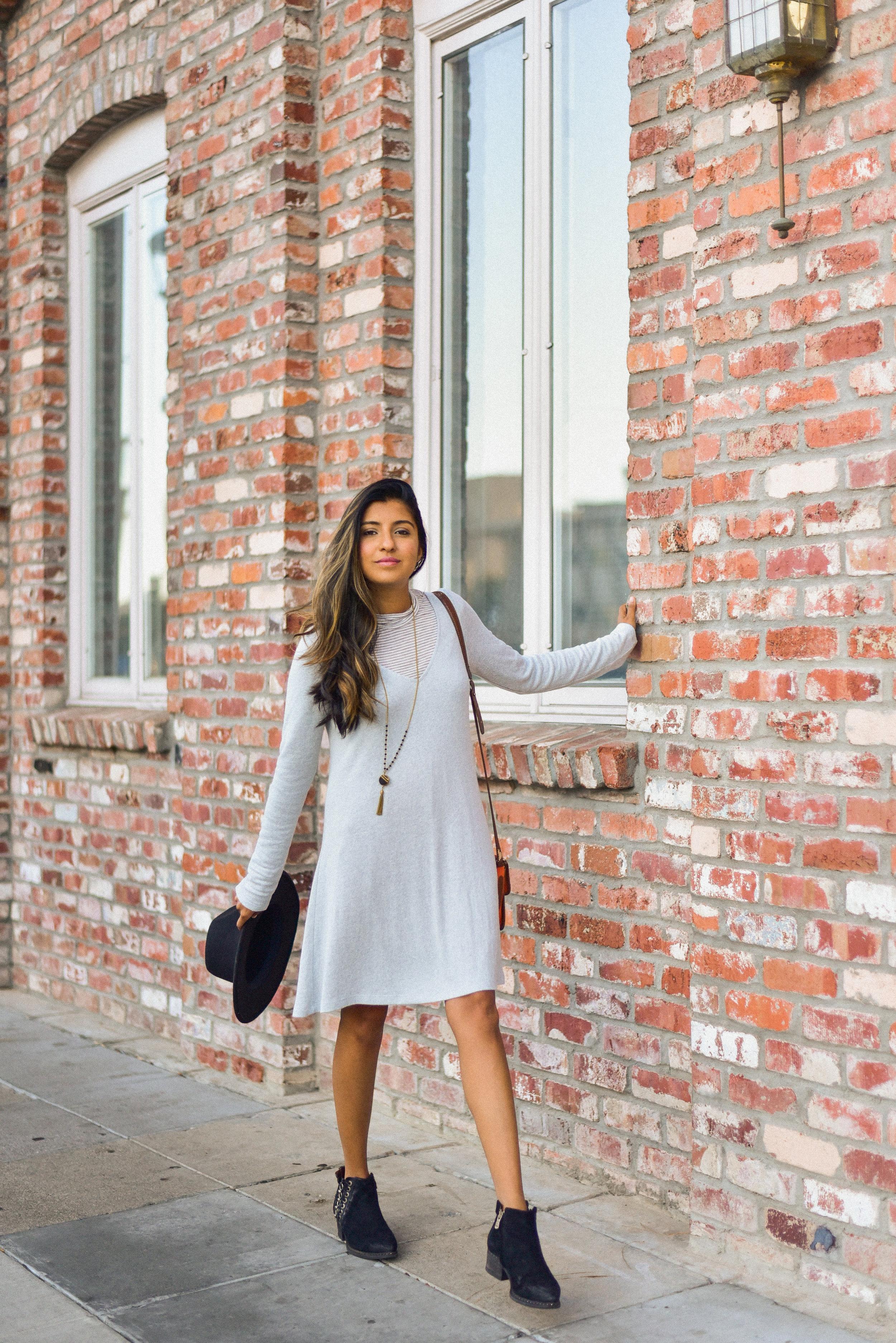 sweater-dress-layering-blogger-fall  4