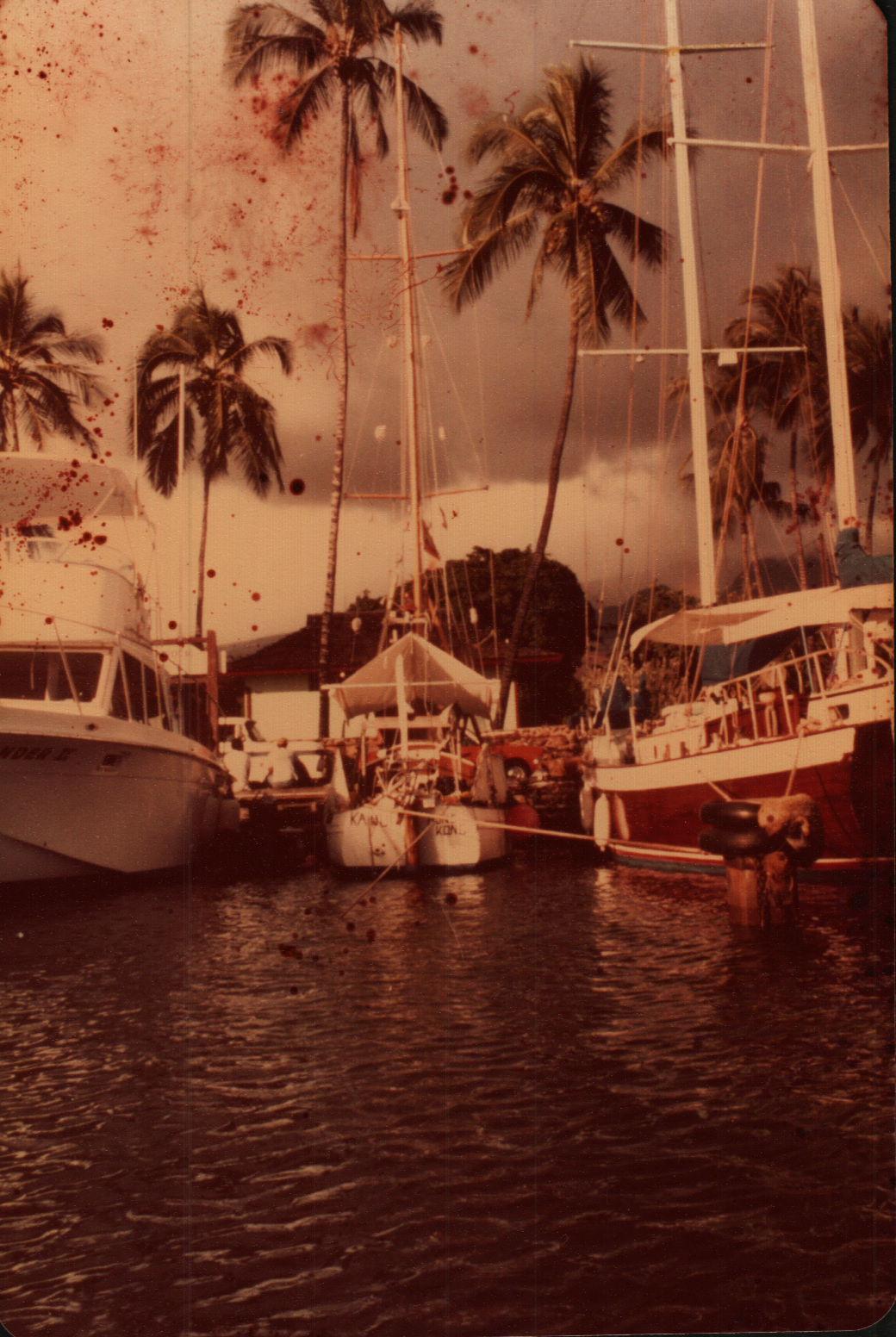 - Tied up in Lahaina, Maui