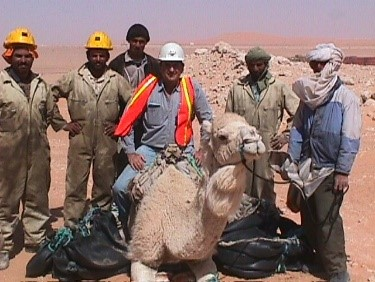 2002, Hassi Messaoud, In Salah Gas Pipeline Project -