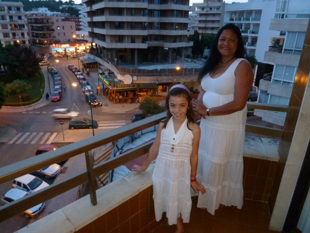 2010 - Katalina and Granddaughter, Celia - Palma de Mallorca