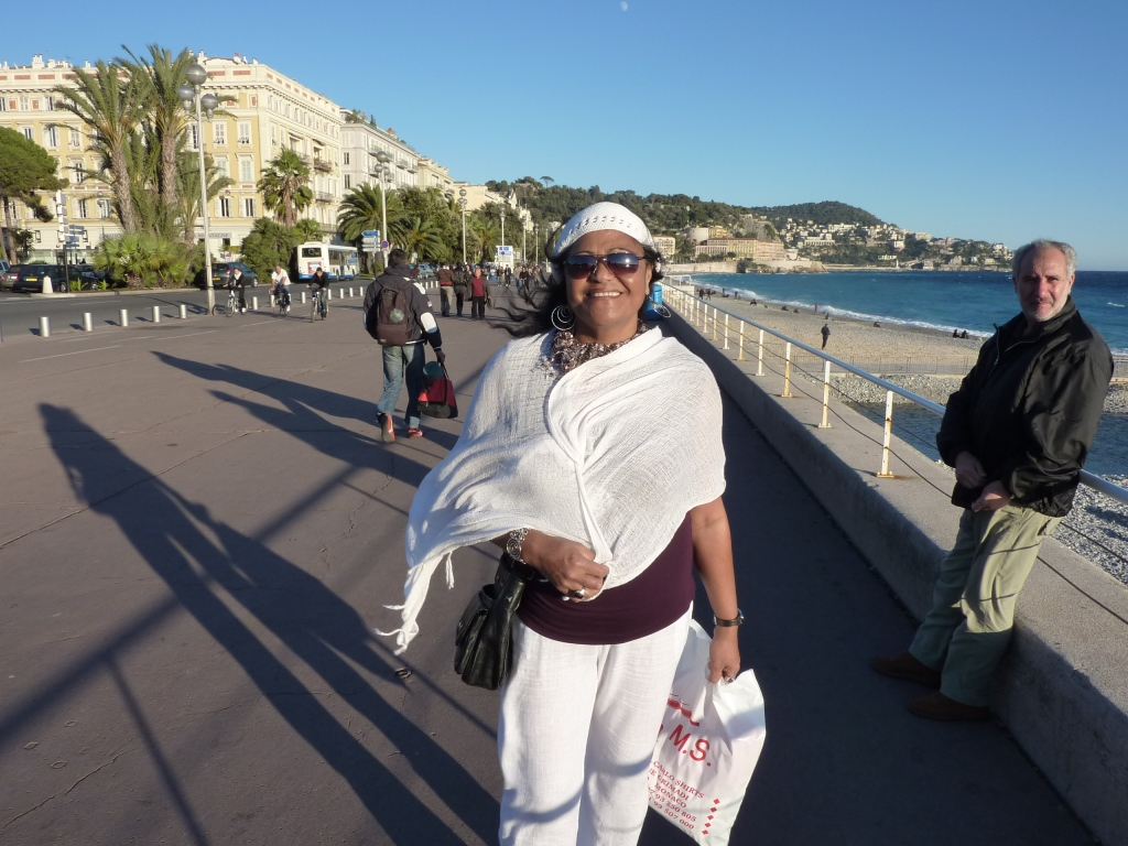 2010 - Katalina in Nice, south of France