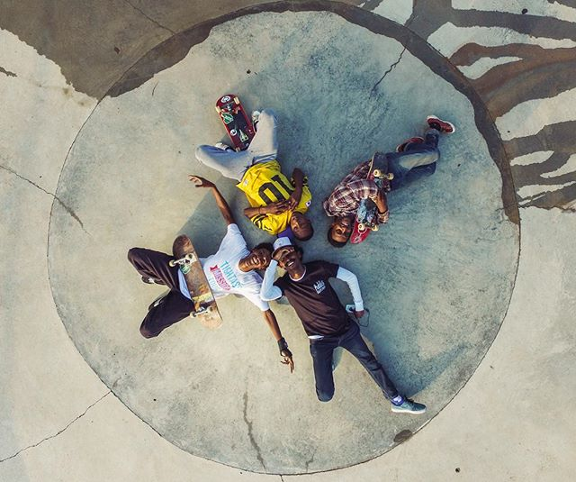 It's been exactly 3 years since the opening of Ethiopia's first skatepark, Addis Skatepark. Thanks to the hundreds of people who made this project possible, skateboarding in Ethiopia is growing exponentially and we're excited to see where it goes 🙌🏾 🌍 #addisababa #ethiopia 📷: @ohitsnato