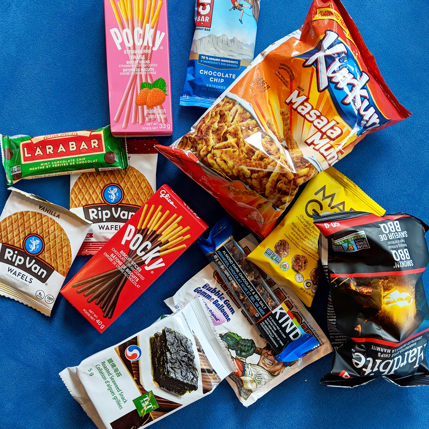 👋 Our snack haul this week