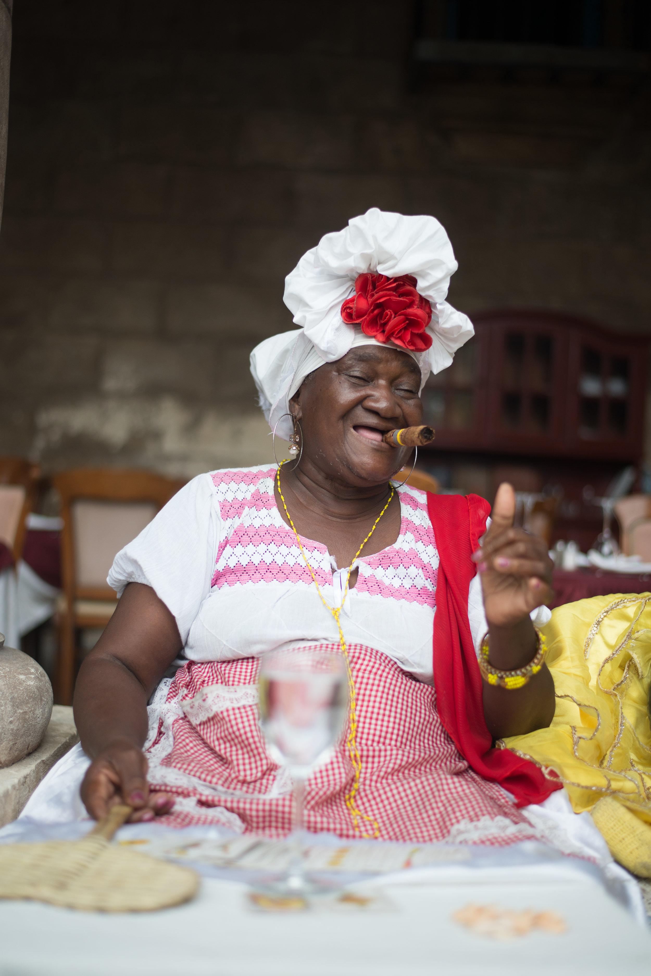 Thumbs Up, Cuba, 2017