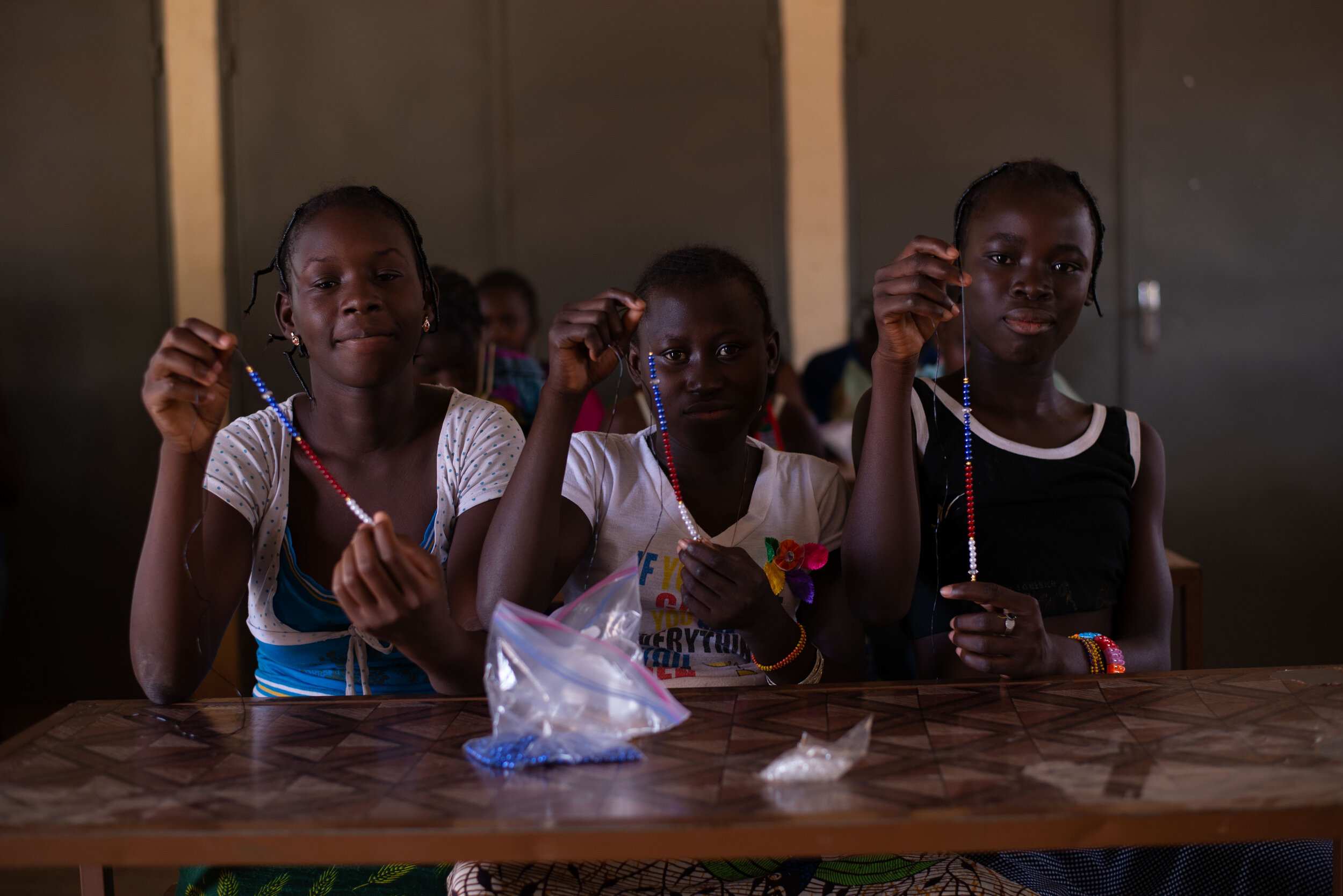 Positive Flow - Finding creative ways to talk to girls about the menstrual cycle in Burkina Faso