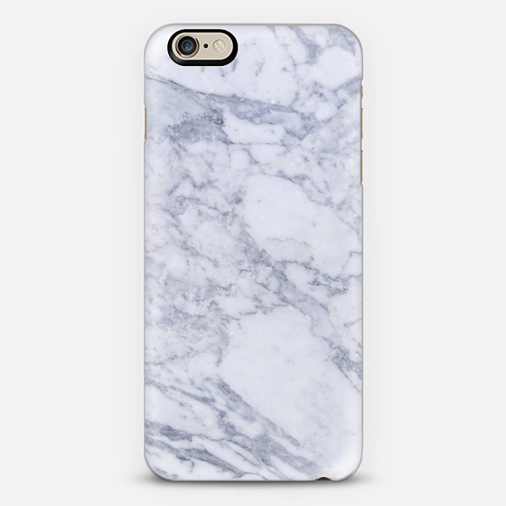 WHITE MARBLE Phone Case on Casetify.com