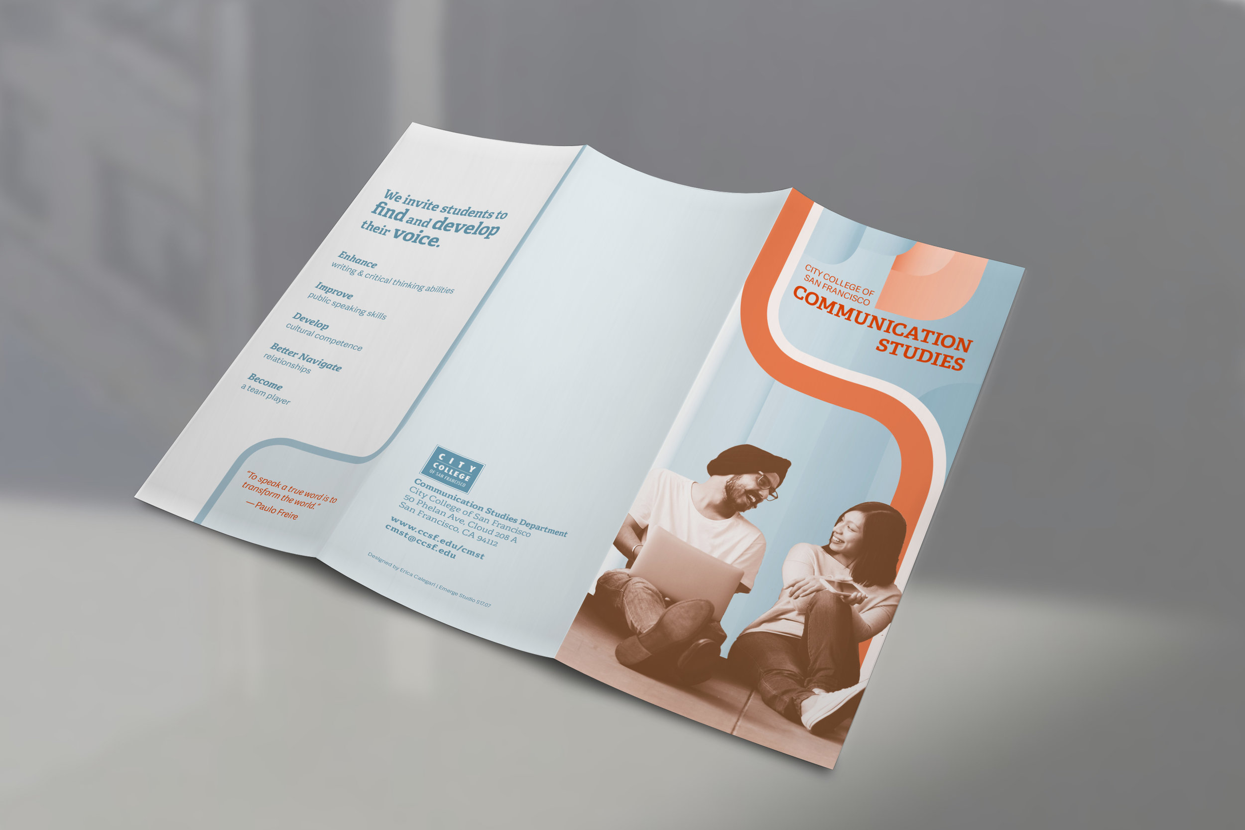Communication Studies Brochure