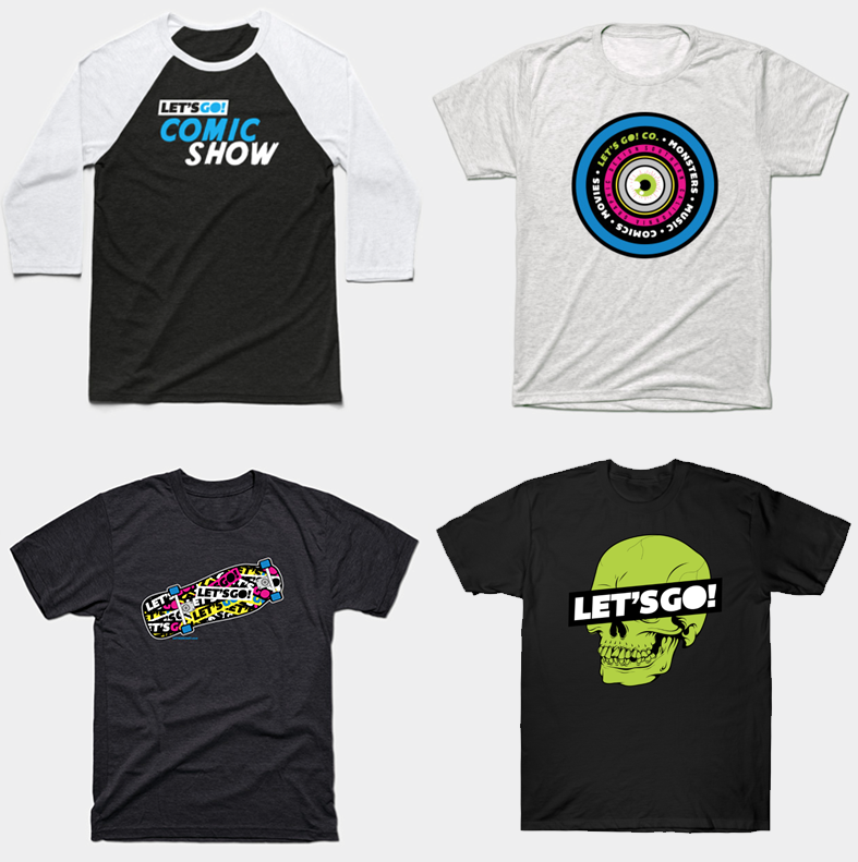 Yes, you can buy all them shirts.