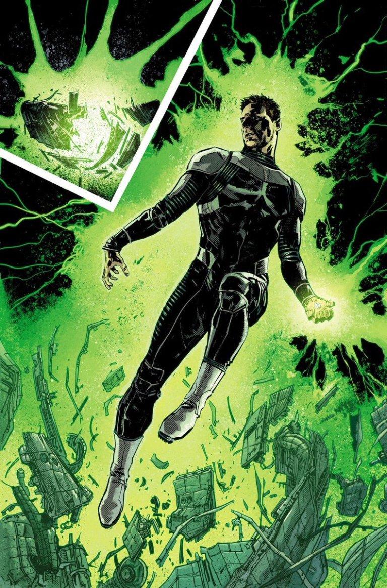 EARTH ONE Hal Jordan by Gabriel Hardman courtesy DC Comics