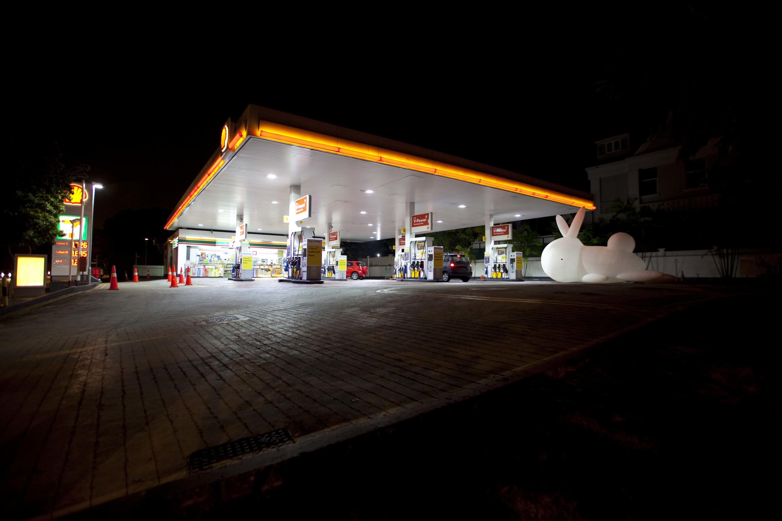 GAS, CIGARETTES AND POCKY STICKS