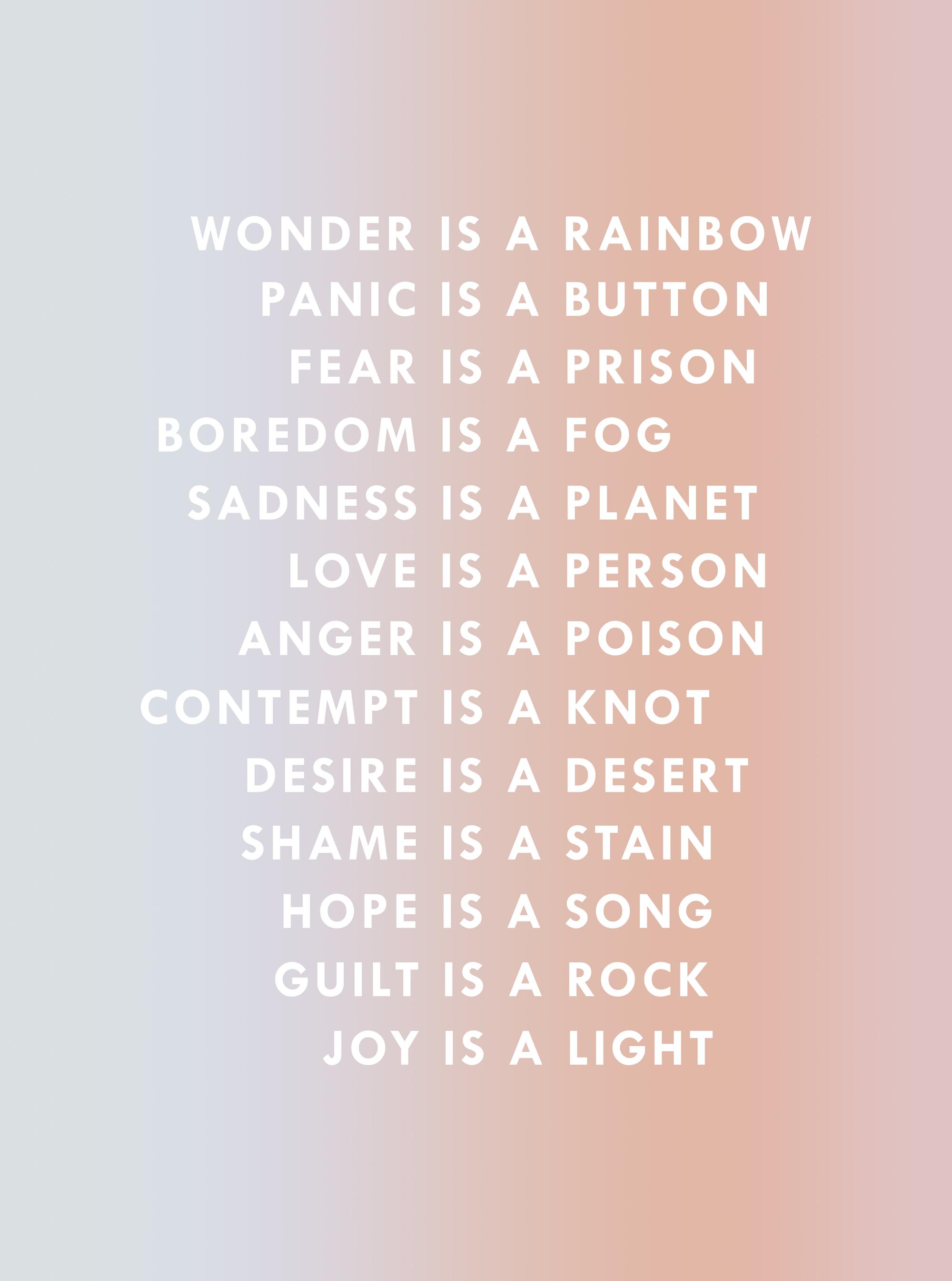 EMOTIONAL THINGS