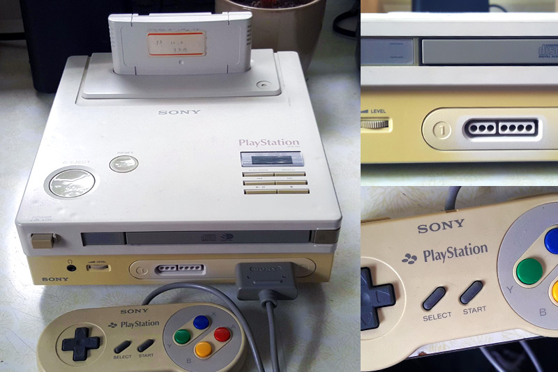 SNES/Playstation prototype found