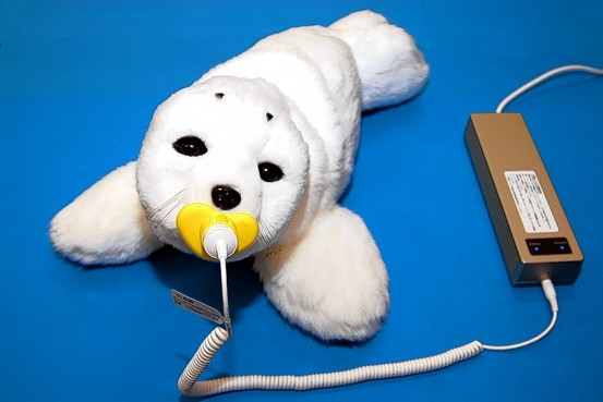 PARO - Electronic seal companion