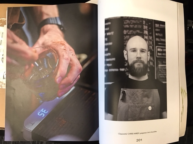 IT Engineer Chris Hardy features in  Coffee Shop North . We can confirm he makes an excellent coffee.