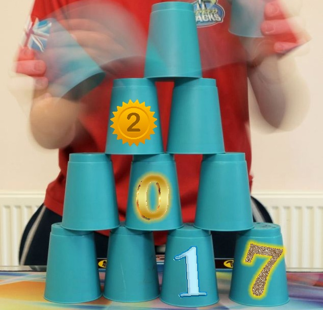 cup stacking in the new year