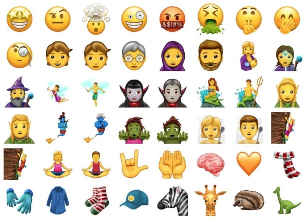 69 new emojis announced by Unicode