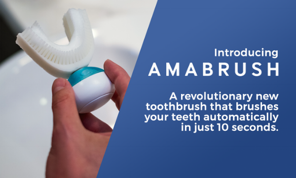 Amabrush: The world's first automatic toothbrush  - Kickstarter of The Week