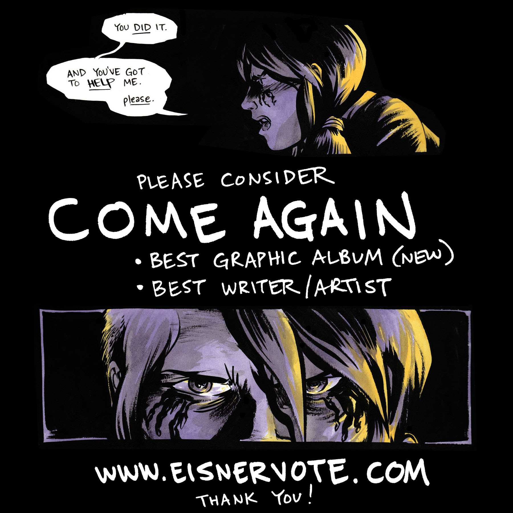 COME AGAIN Eisner voting flyer.jpg