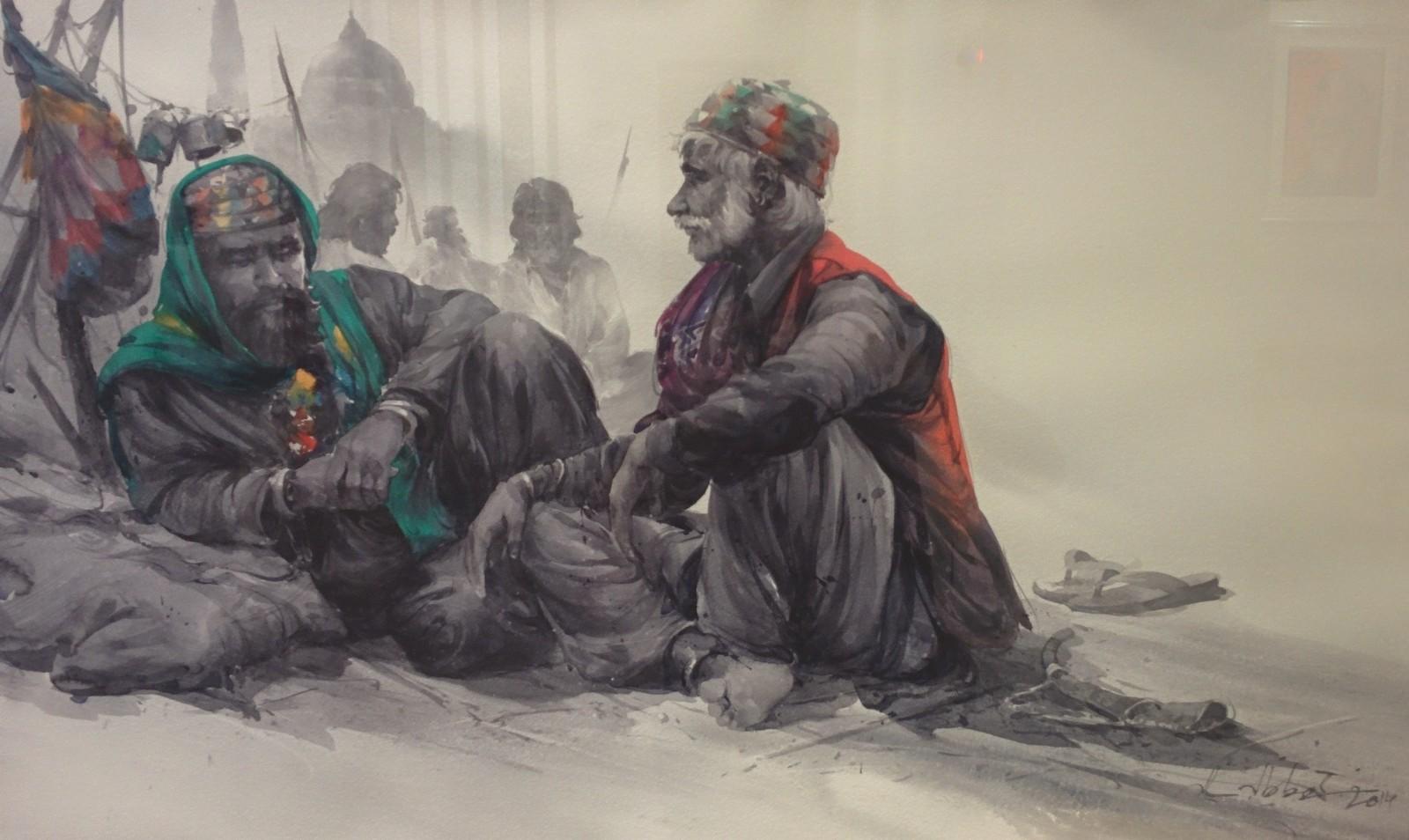 Lahore - Things to Do - Ijaz Art Gallery 7 Salahuddin Khawaja.JPG