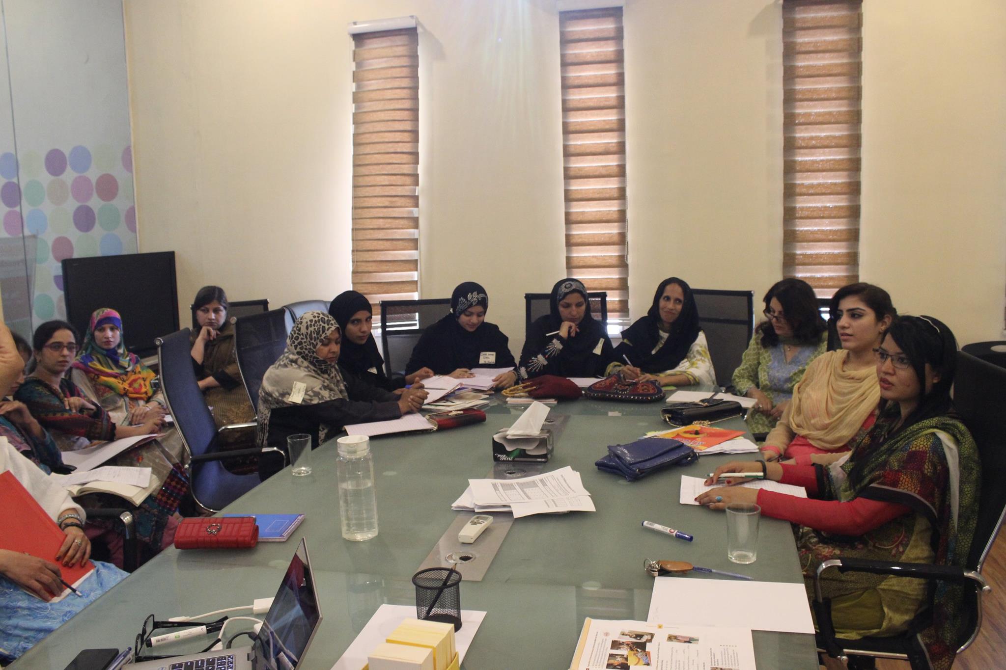 Teachers from partner schools of Khud