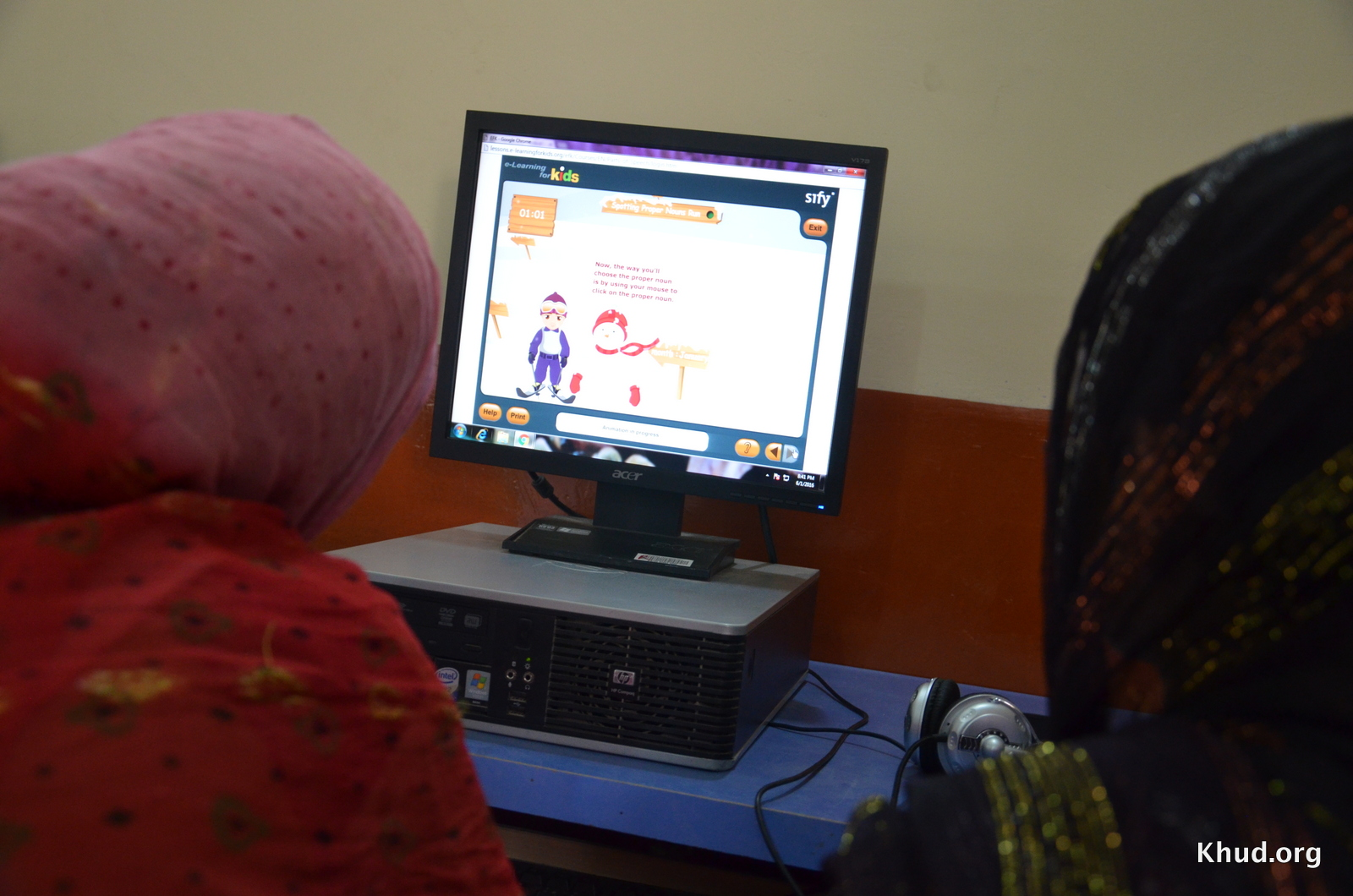 www.e-learningforkids.org e-learning for kids Nick van Dam khud.org - edtech - lahore - pakistan - mughalpura school
