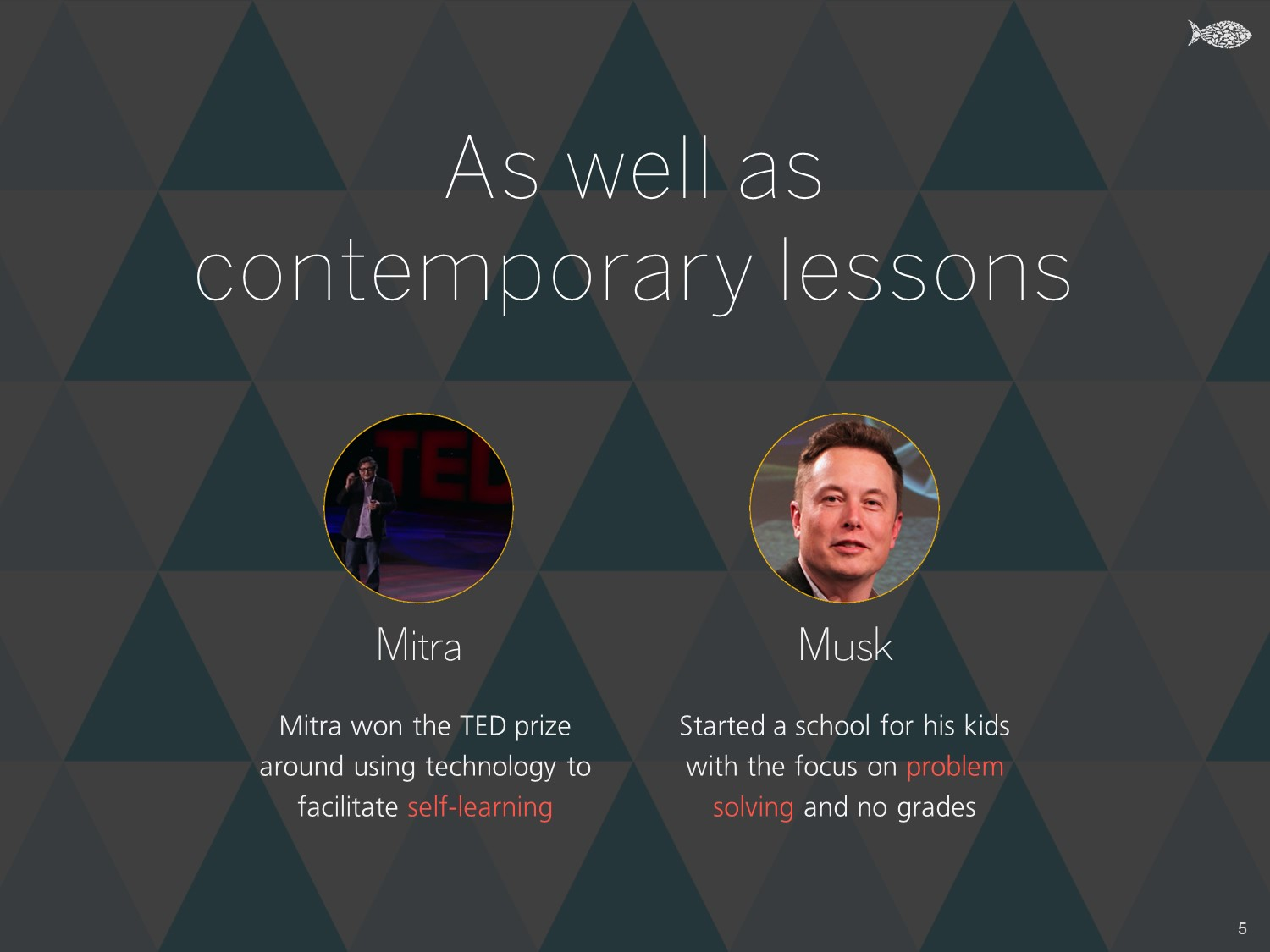 As well as contemporary lessons - Khud EdTech Pakistan