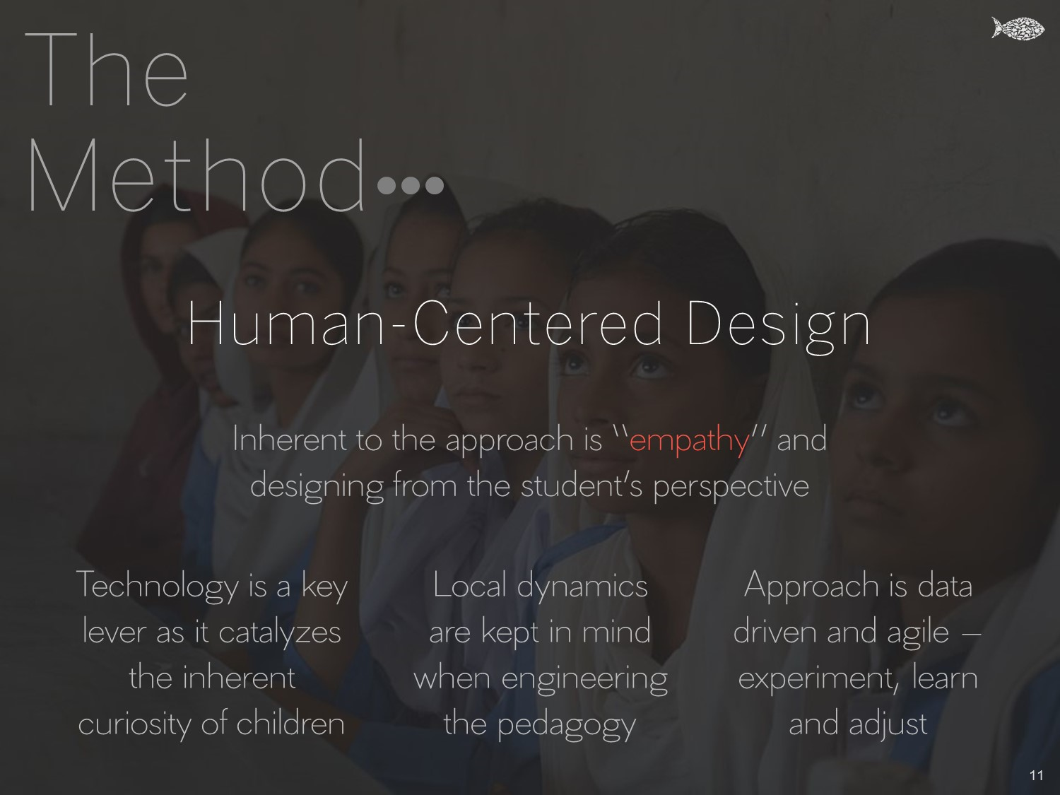 The Method - Human-Centered Design - Khud EdTech Pakistan