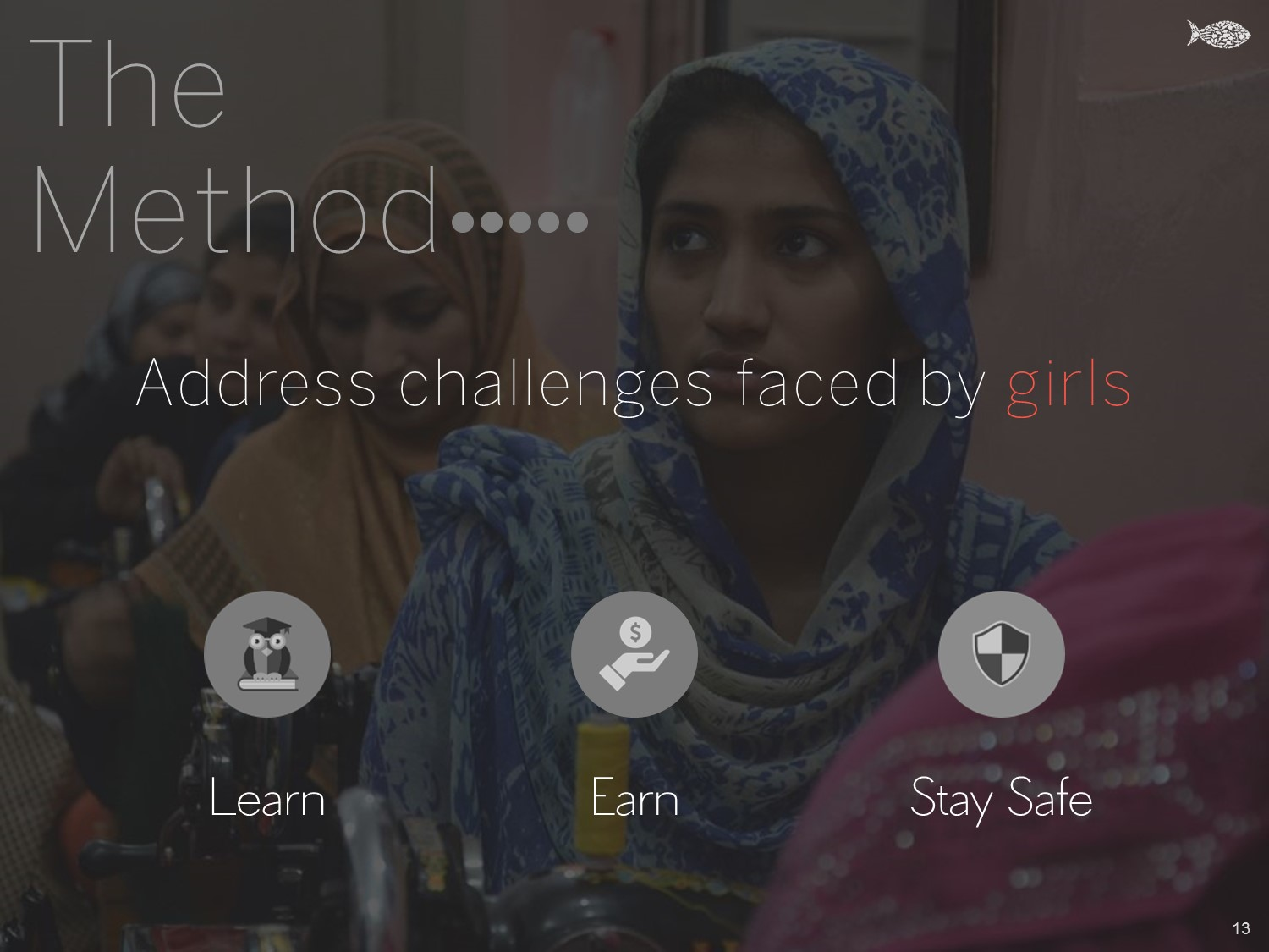 The Method - Address challenges faced by girls - Khud EdTech Pakistan