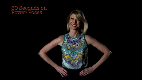 Amy Cuddy developed the 'power pose'