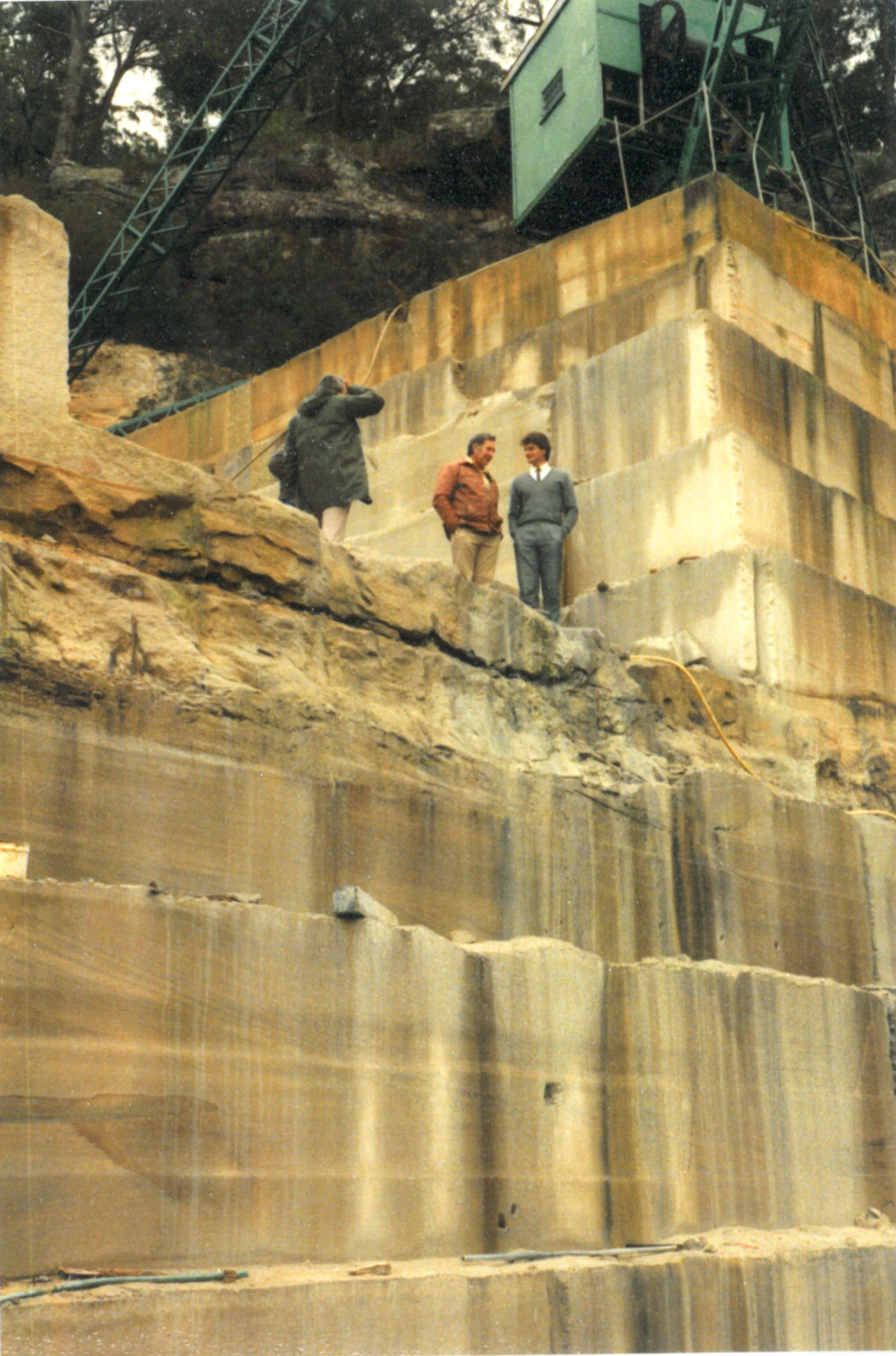 Wondabyne Quarry 1985 Gary Hargreaves.jpg