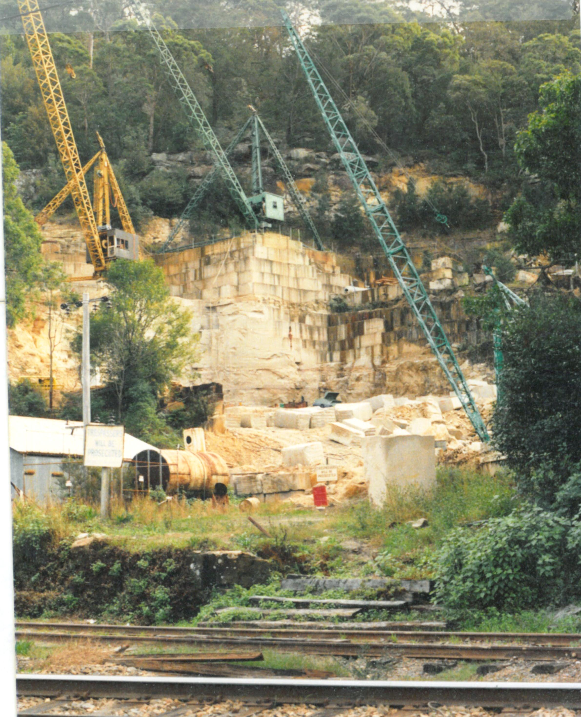 Wondabyne Quarry 1987 1.jpg