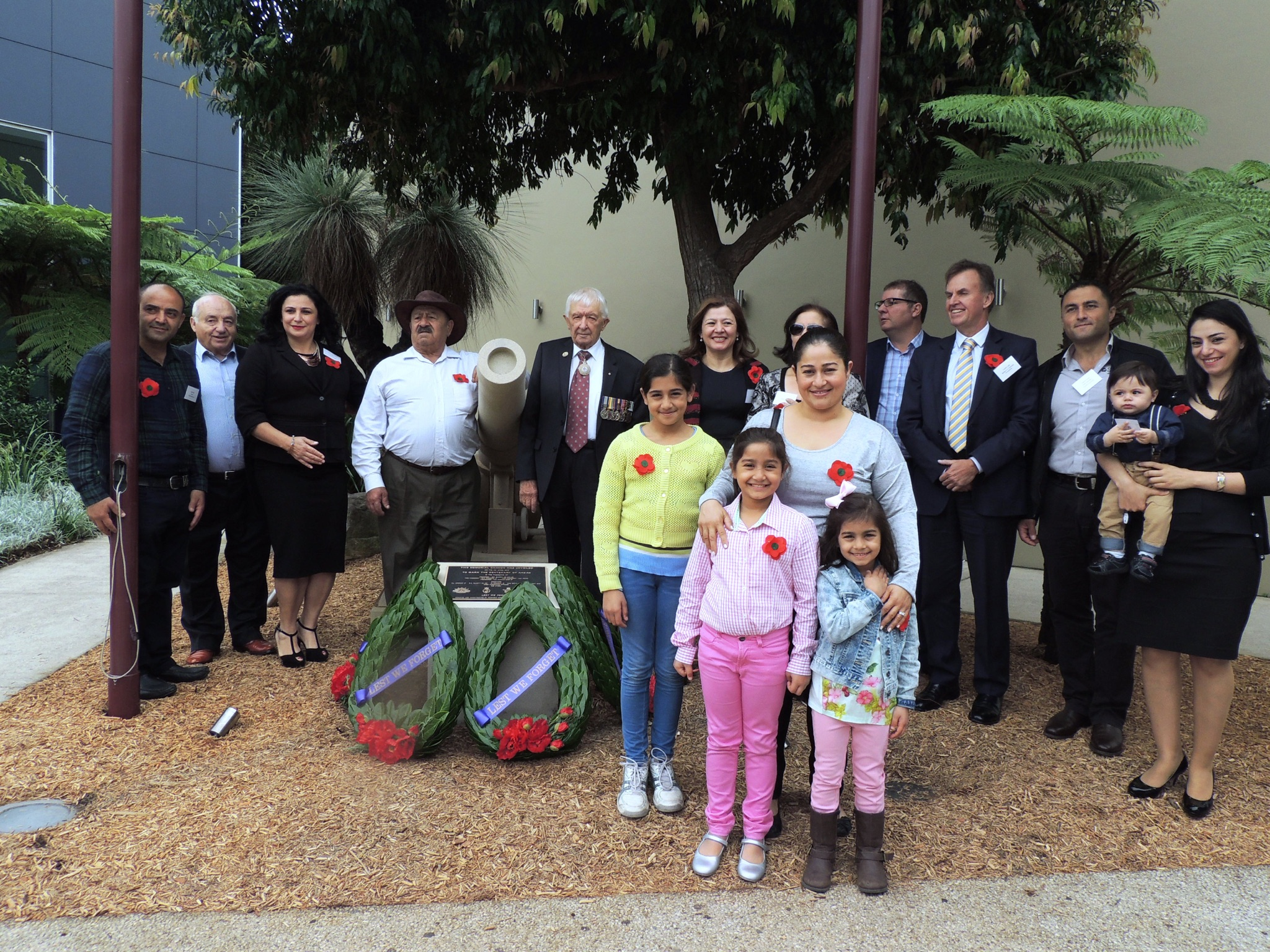 Castle HIll RSL Cannon Donation  sarkis fam .jpg