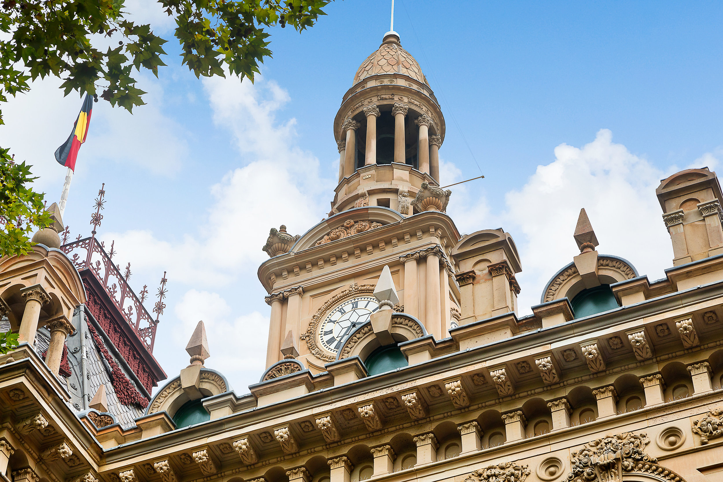 Sydney Town Hall -Heritage restoration using Gosford Quarries 200 George St Sydney sandstone Yellowblock  (5).jpg