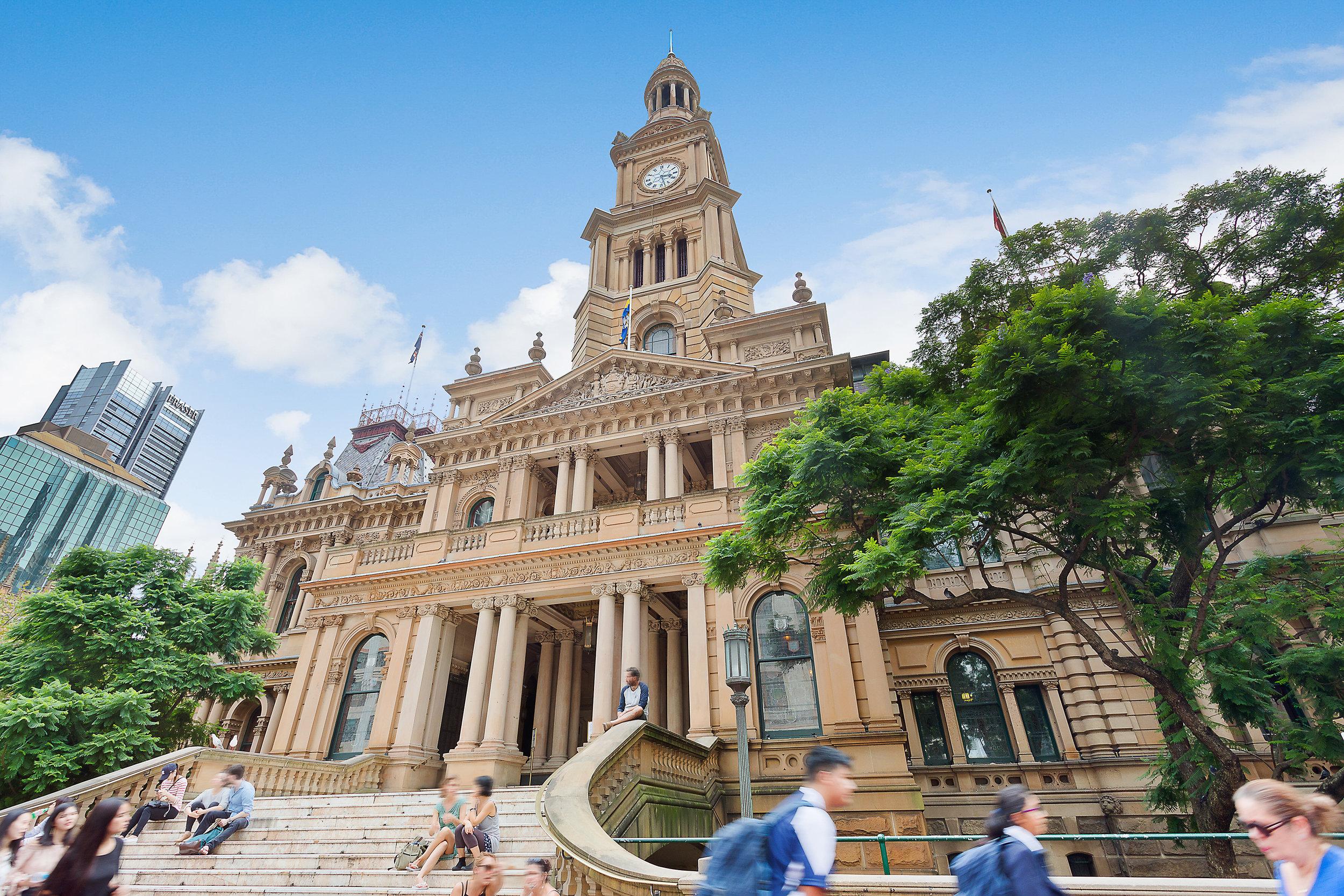 Sydney Town Hall -Heritage restoration using Gosford Quarries 200 George St Sydney sandstone Yellowblock  (3).jpg