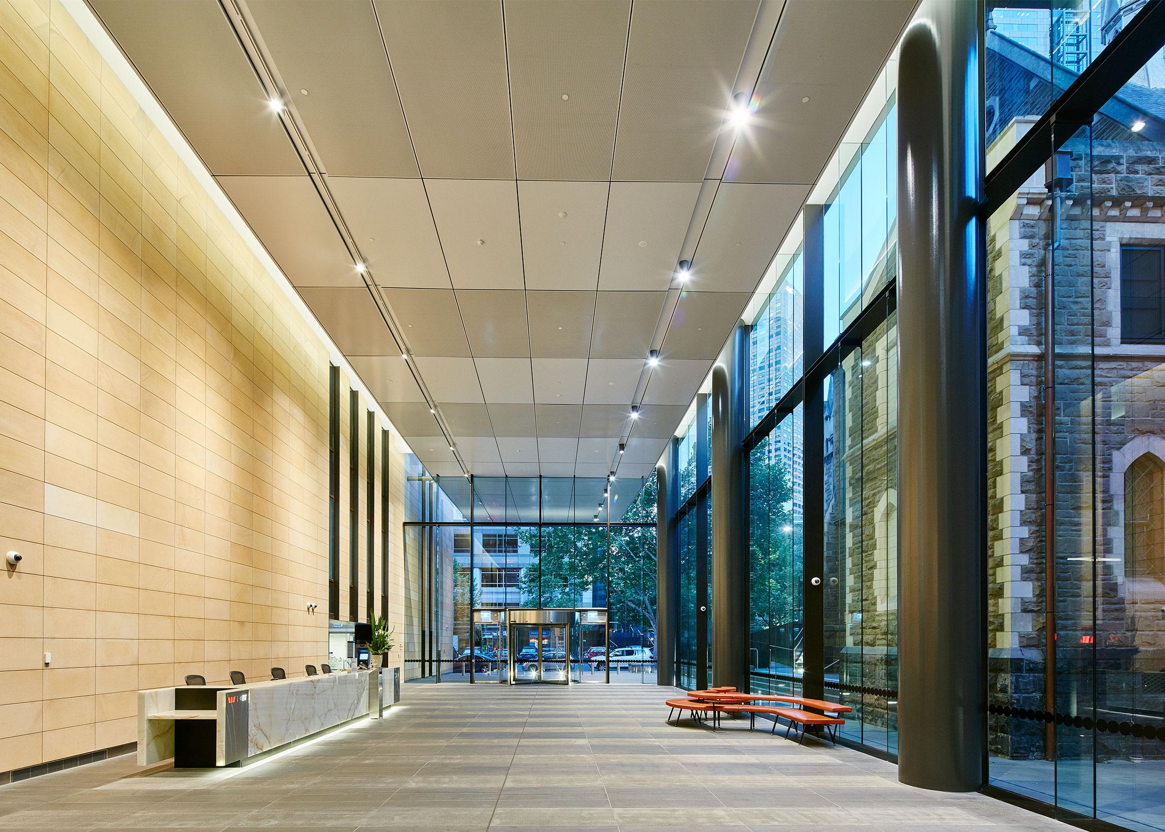 Westpac Foyer - Melbourne - Guinea Gold.jpg