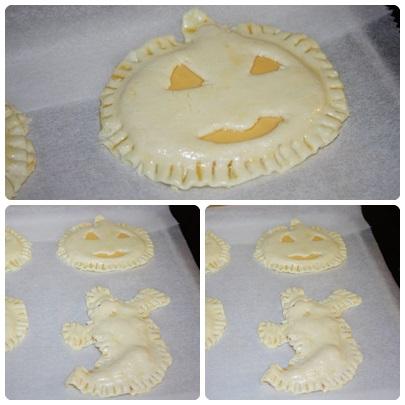 Pintar dos veces de huevo para fortalecer que no se derrita el queso