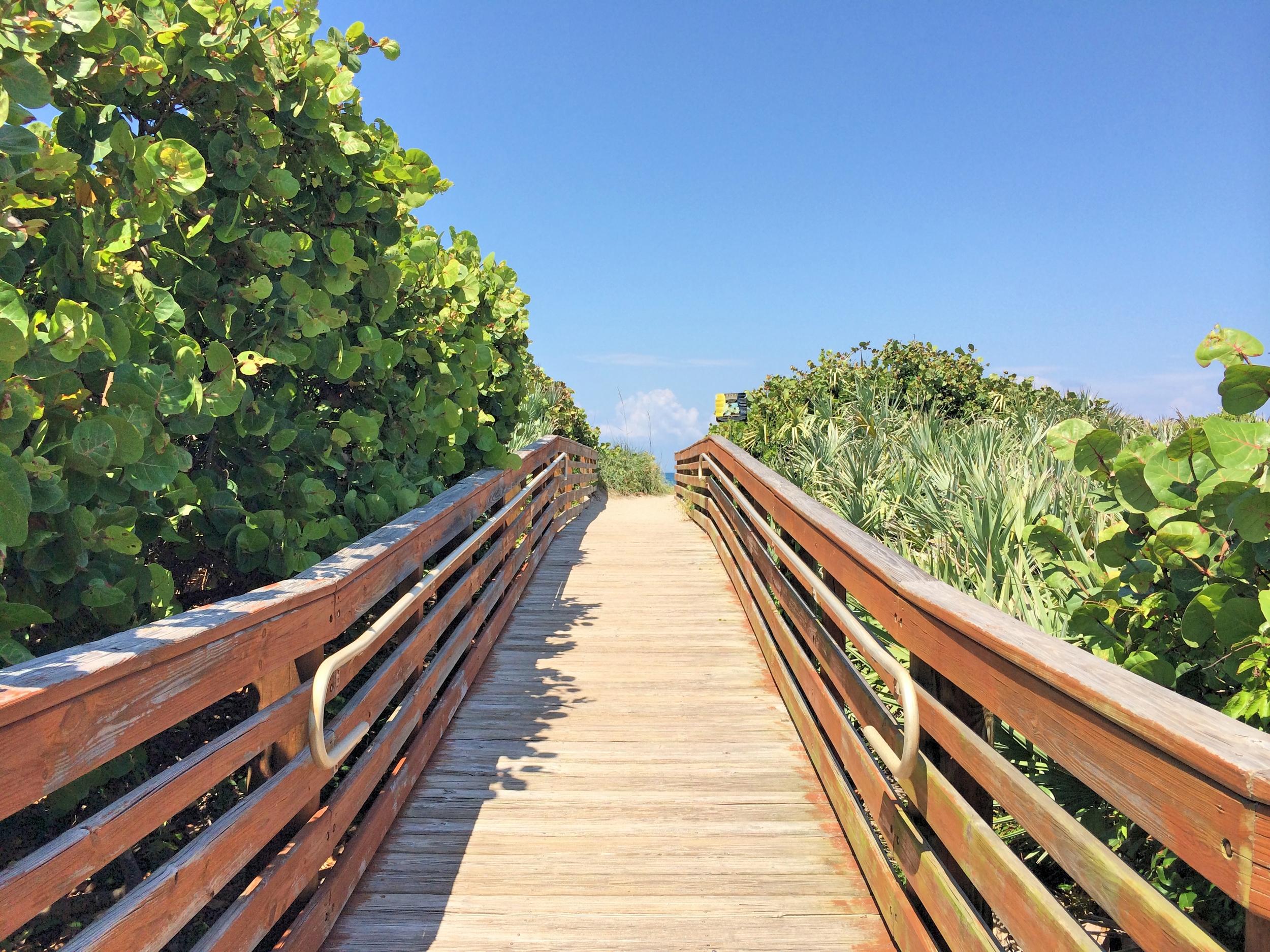 Boardwalk Entry