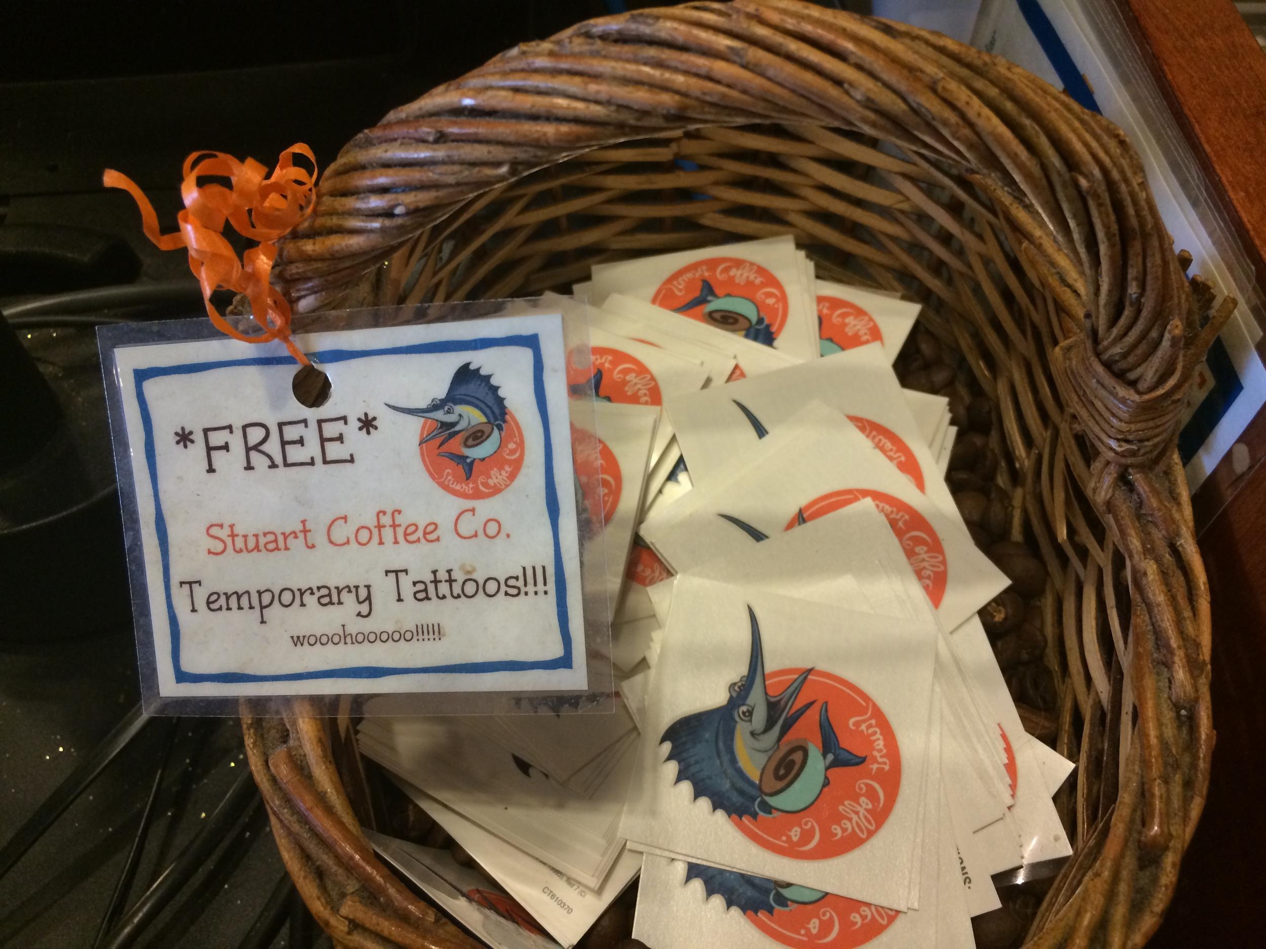 FREE Tattoos!