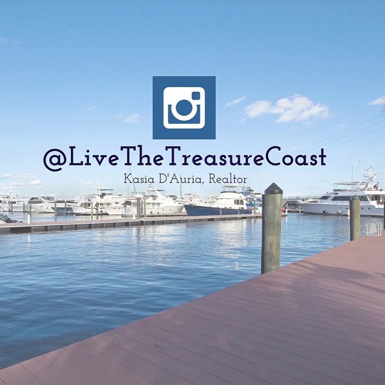 Follow me here!  @livethetreasurecoast