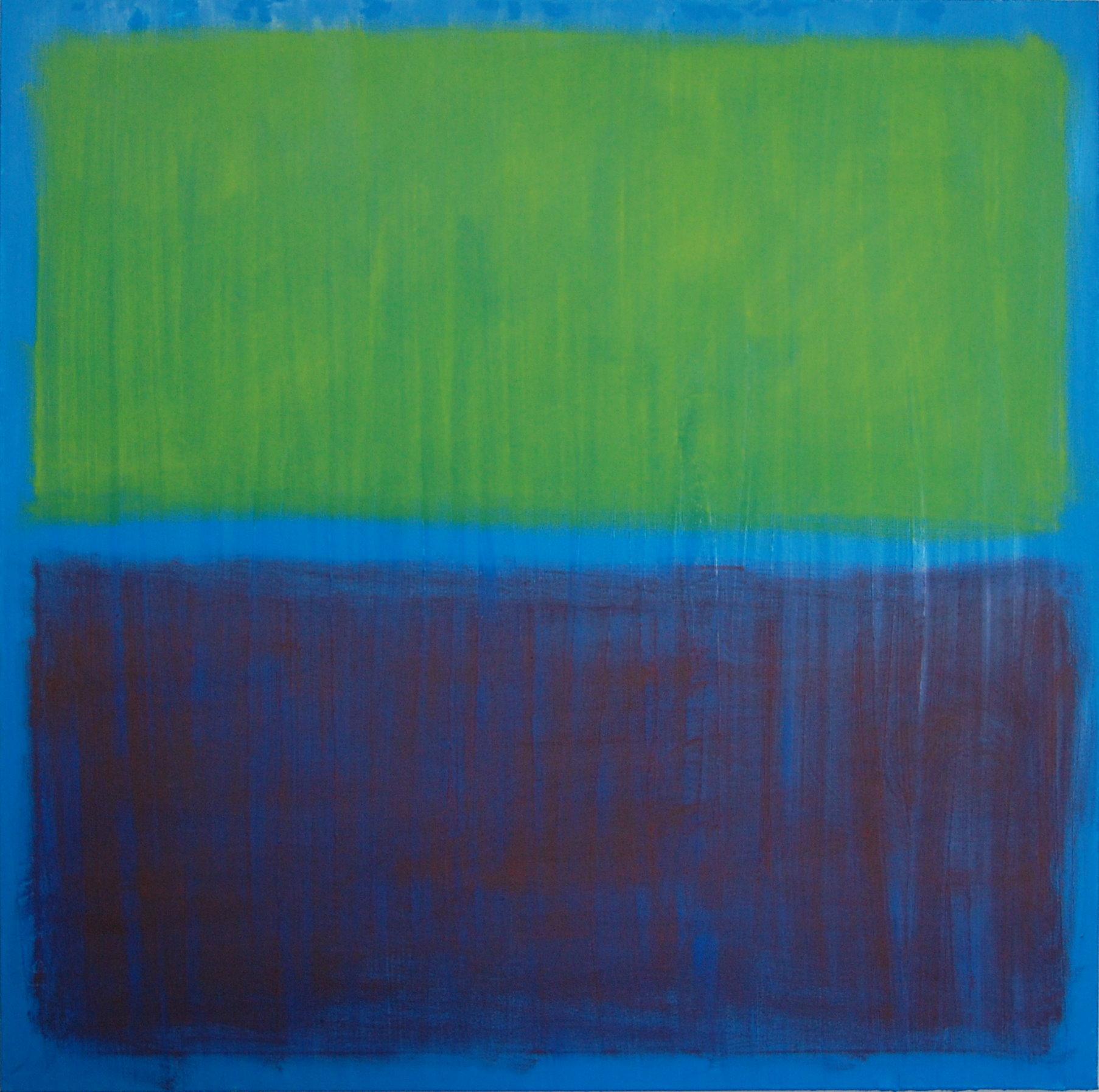 Splitting The Atom II, oil on canvas, 36''x36'', 2015.jpg