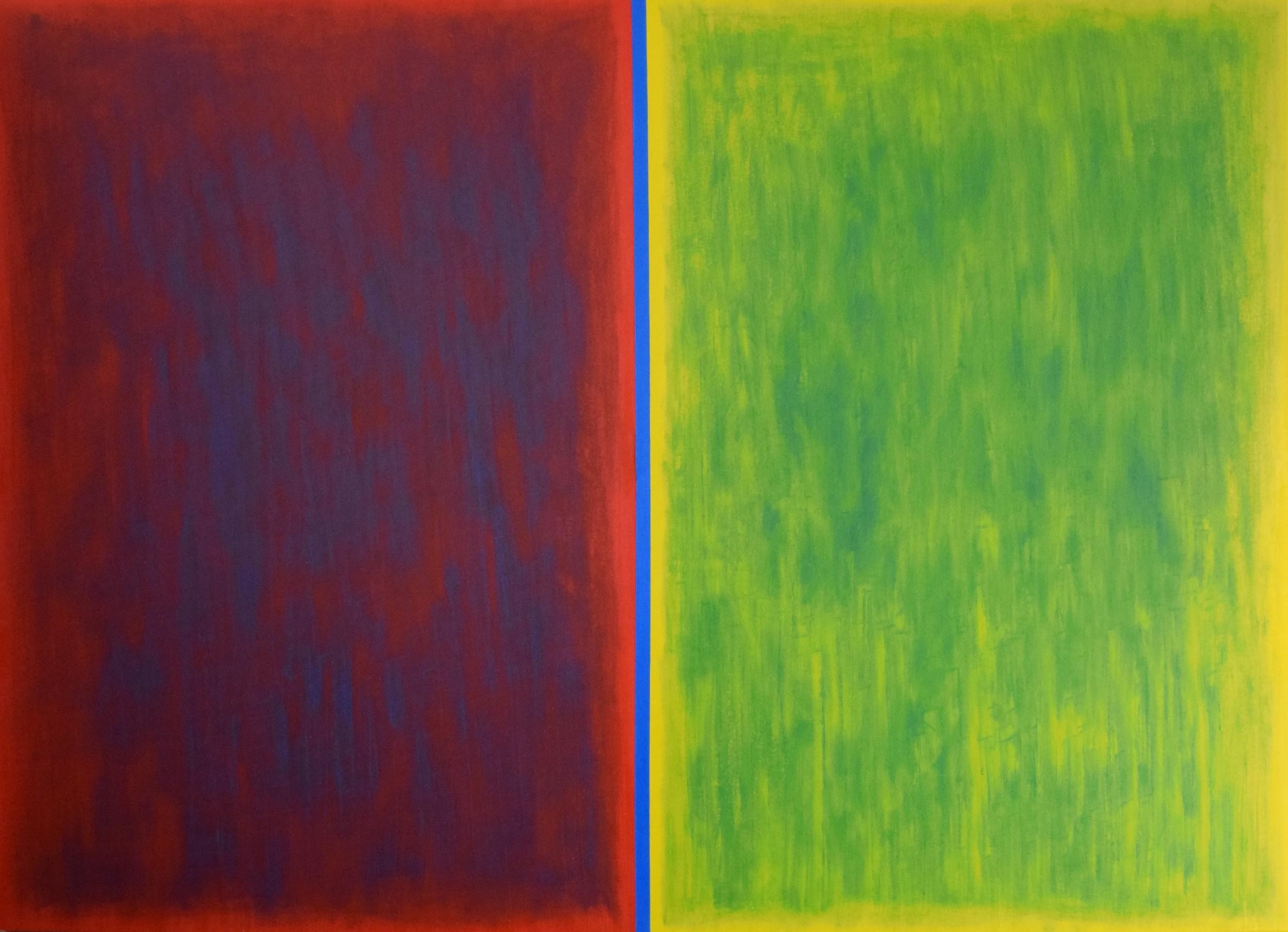 Common Denominator, oil paint on canvas, 84''x60''.jpg