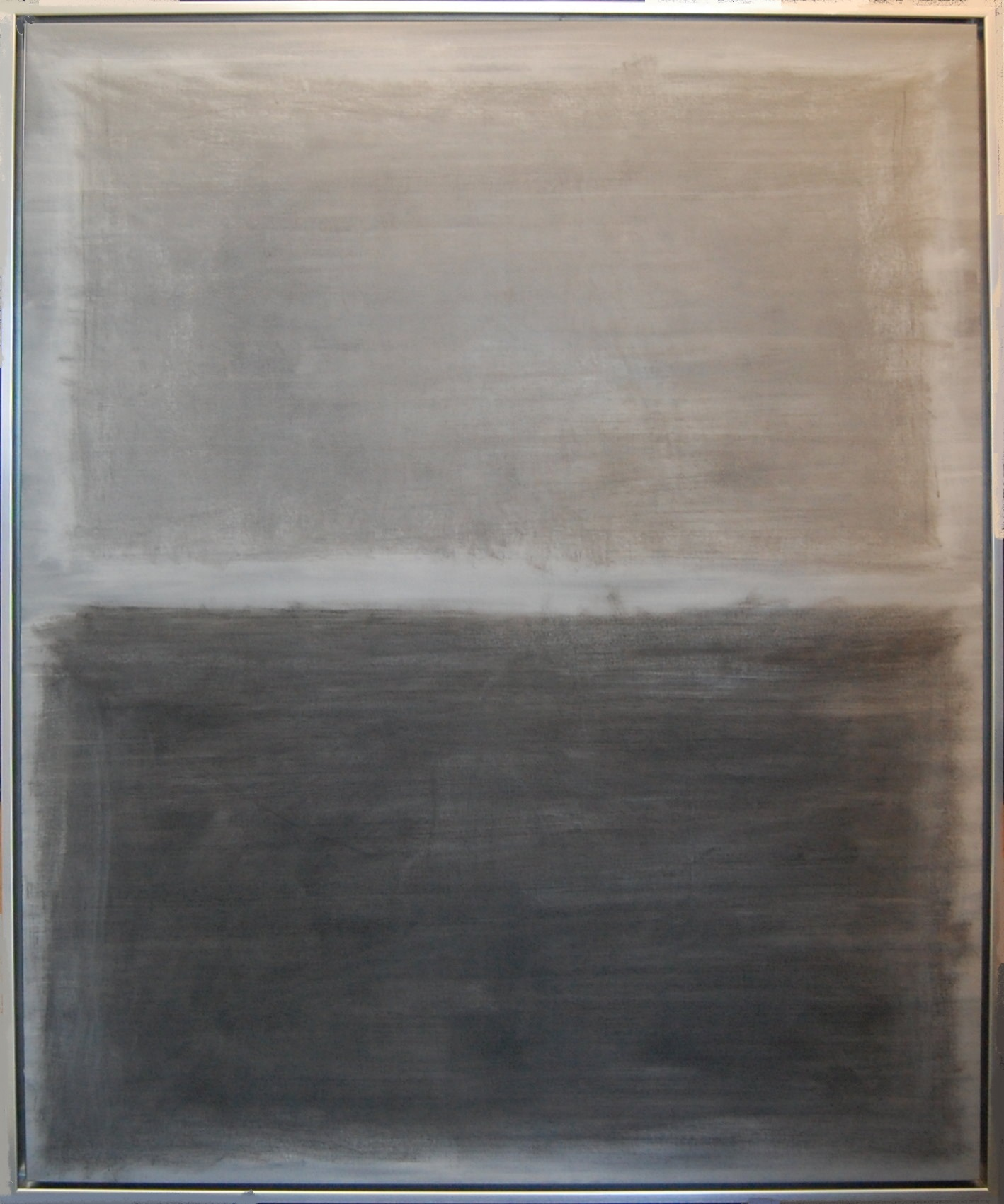 Study in Gray, oil paint on canvas, 48''x60'', 2015.jpg