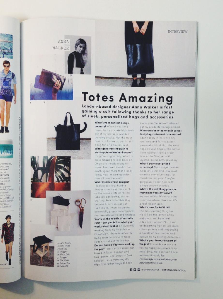 Summer 2014: Tony & Guy Magazine