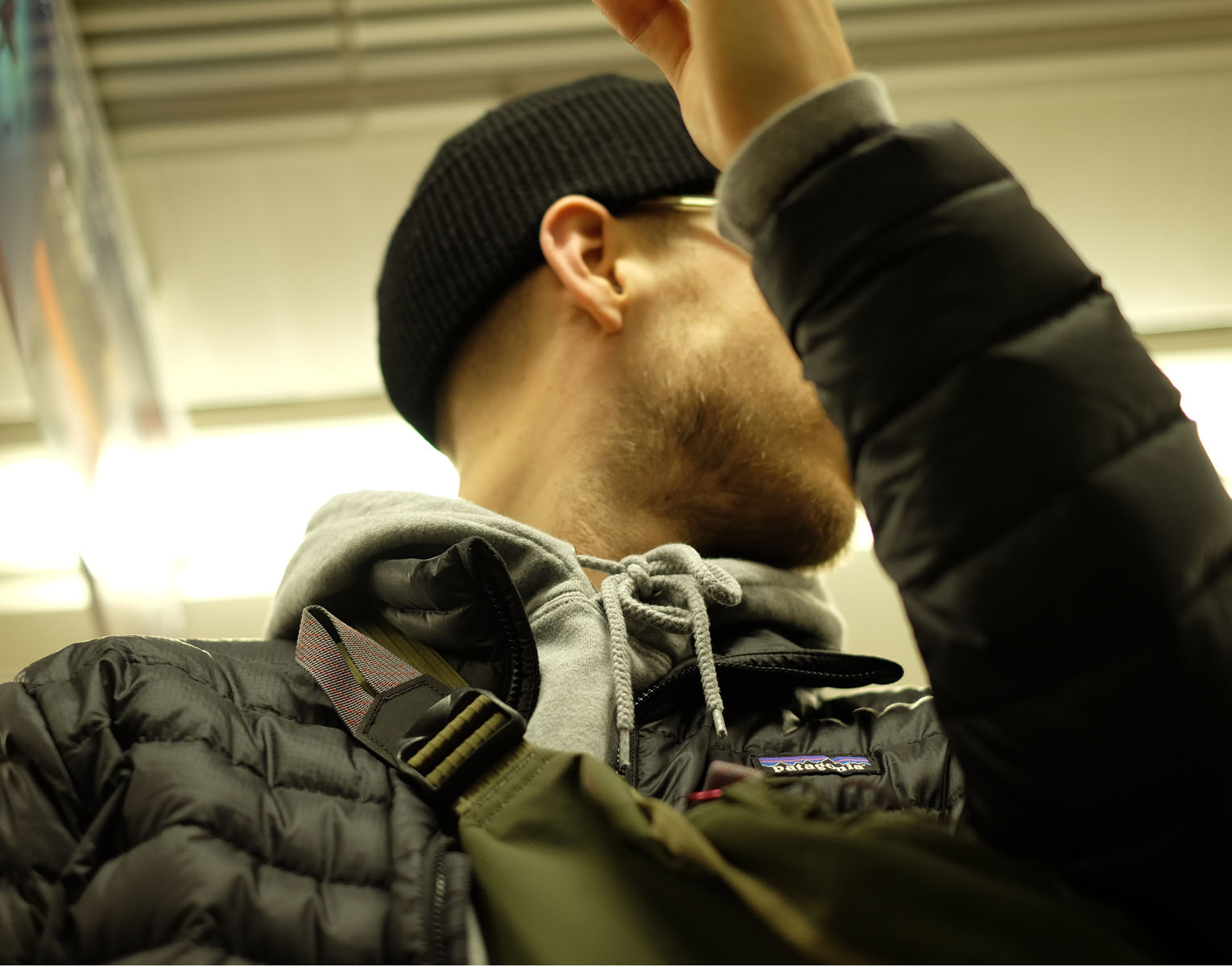 On the subway, Tokyo