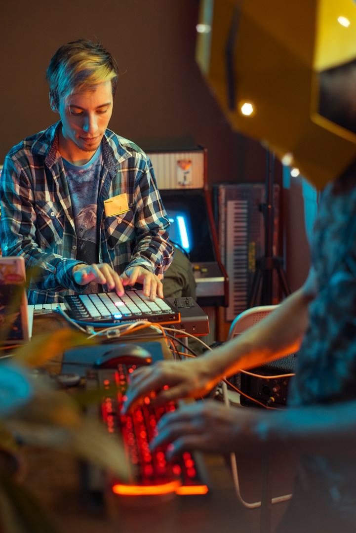 Tough Coded & Toni Leys at DOBOTONE party in Arcade Club Social